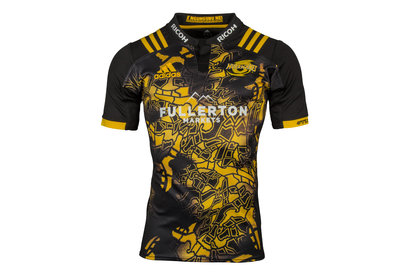 Hurricanes 2017 Territory SS Super Rugby Shirt