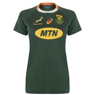 Asics South Africa Springboks 19/20 Home Shirt Womens
