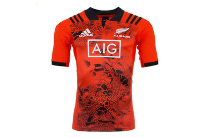 New Zealand All Blacks 201718 SS Players Rugby Training Shirt