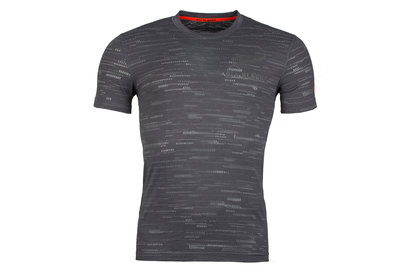 adidas New Zealand All Blacks 2017/18 Off Field Performance Rugby T-Shirt