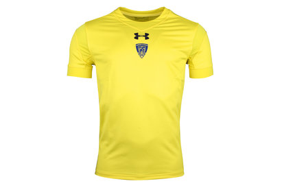 Under Armour Clermont Auvergne 2017/18 Kids Home S/S Replica Rugby Shirt