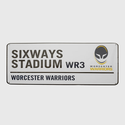 Worcester Warriors Classic Street Sign