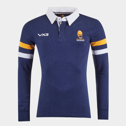 Worcester Warriors Cotton L/S Rugby Shirt