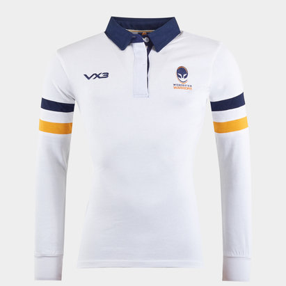 Worcester Warriors Ladies Cotton L/S Shirt