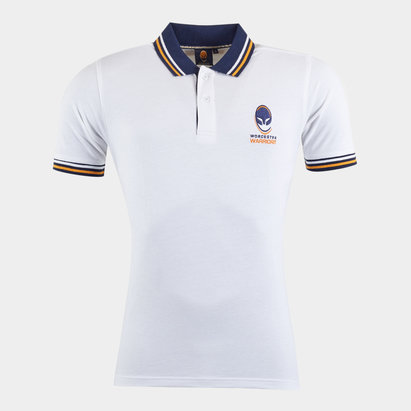 Worcester Warriors Off Field Rugby Polo Shirt