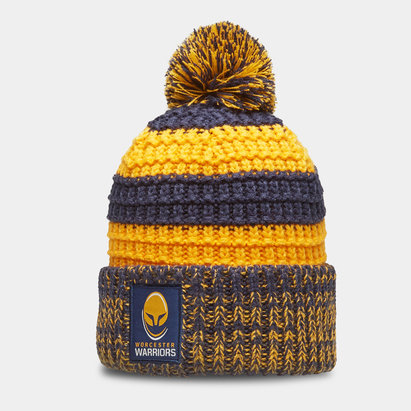 VX3 Worcester Warriors 19/20 Stripe Bobble Hat