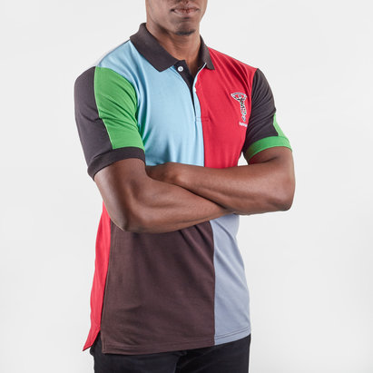 Harlequins Quartered Mens Polo Shirt