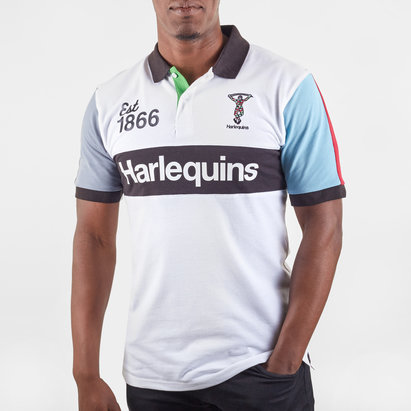 Harlequins 1866 Mens Polo Shirt