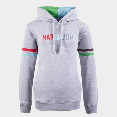 Harlequins Kids Hooded Sweat