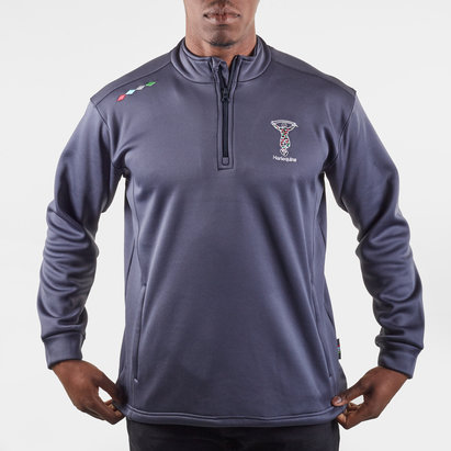 Harlequins Mens 1/4 Zip Top