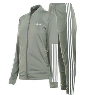 adidas Womens Back 2 Basics 3 Stripes Tracksuit