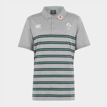 Canterbury Ireland Cotton Polo Shirt Mens