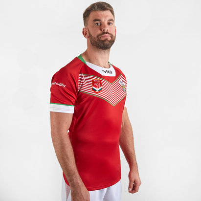 VX3 Wales Rugby League 2019/20 Home S/S Shirt