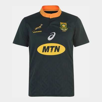 Asics South African Springbok Home Jersey Mens