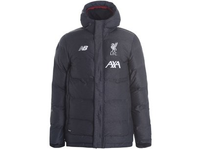 New Balance Liverpool FC Managers Jacket 2019 2020 Mens