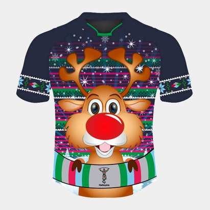 Harlequins 2019 Kids Christmas Rugby Shirt