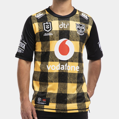 Canterbury New Zealand Warriors NRL 2020 Wellington Shirt