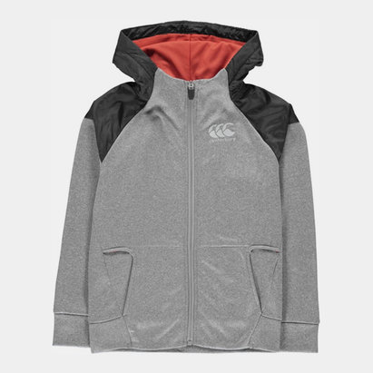 Canterbury Vapodri Zip Hoodie Junior Boys