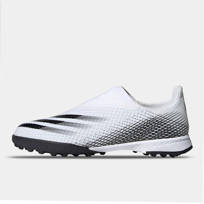 adidas X Ghosted .3 Laceless Childrens Astro Turf Trainers