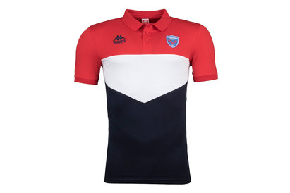 Kappa FC Grenoble 2017/18 Players Rugby Polo Shirt