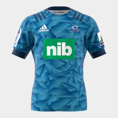 adidas Blues Home Rugby Shirt 2020