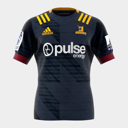 adidas Highlanders 2020 Home Super Rugby S/S Rugby Shirt