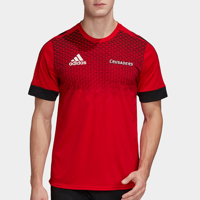 adidas Crusaders 2020 Super Rugby Training T-Shirt