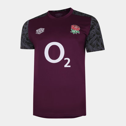 Umbro England Rugby Gym T Shirt Mens