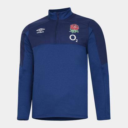 Umbro England Half Zip Fleece Mens
