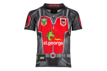 St George Illawarra Dragons 2017 NRL Kids Ant Man Marvel SS Ltd Edition Rugby Shirt