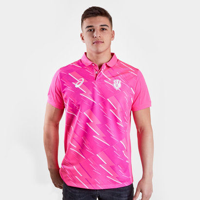 Asics Stade Francais 2017/18 Alternate Replica S/S Rugby Shirt