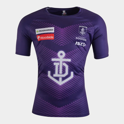 ISC Fremantle Dockers 2020 AFL Players Training T-Shirt