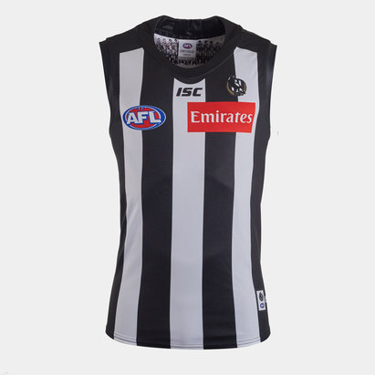 ISC Collingwood Magpies 2020 AFL Home Replica Guernsey