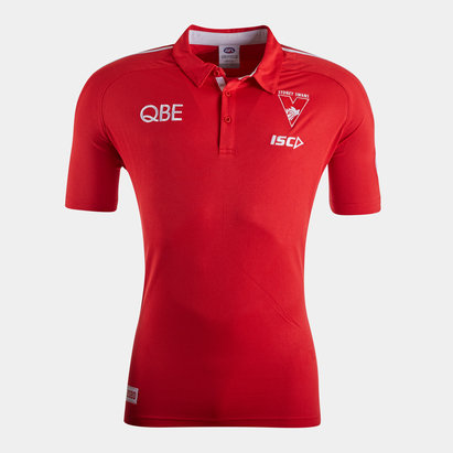 ISC Sydney Swans 2020 AFL Players Polo Shirt