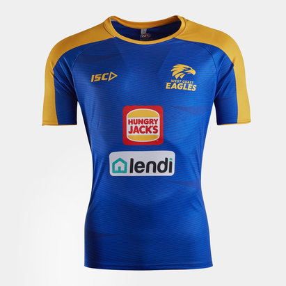 ISC West Coast Eagles 2020 AFL Players Training T-Shirt