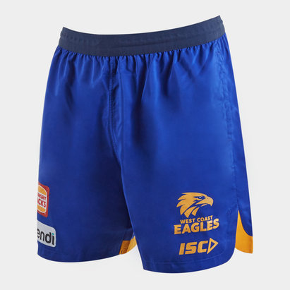 ISC West Coast Eagles 2020 AFL Players Training Shorts