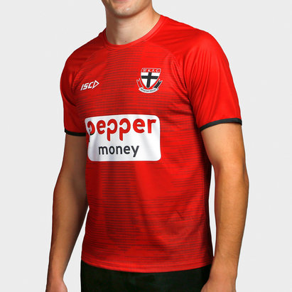 ISC St Kilda Saints 2020 AFL Players Training T-Shirt