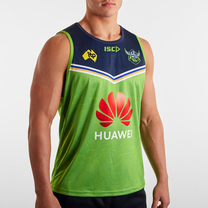 ISC Canberra Raiders NRL 2020 Players Rugby Training Singlet