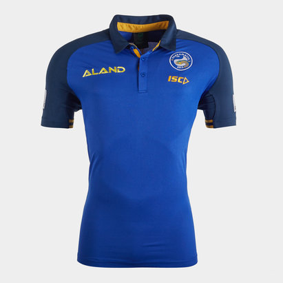 ISC Parramatta Eels NRL 2020 Players Rugby Polo Shirt