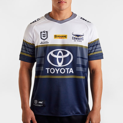 ISC North Queensland Cowboys NRL 2020 Alternate S/S Rugby Shirt