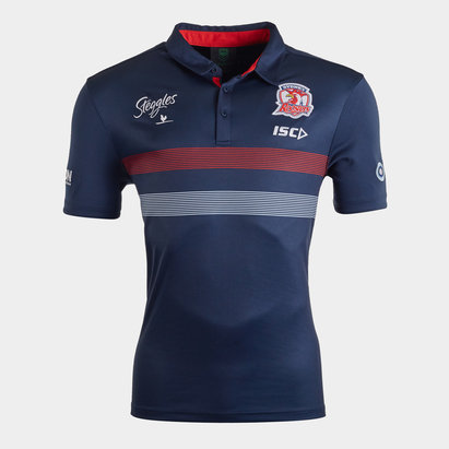ISC Sydney Roosters NRL 2020 Players Rugby Polo Shirt