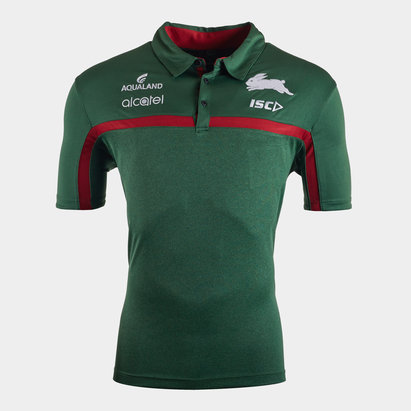 ISC South Sydney Rabbitohs NRL 2020 Players Rugby Polo Shirt