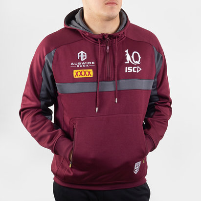 ISC Queensland Maroons NRL 2020 Hooded Rugby Sweat