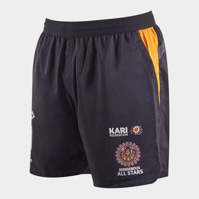 ISC Indigenous All Stars 2020 NRL Players Rugby Training Shorts