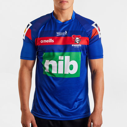O'Neills Newcastle Knights 2020 NRL Players Rugby Training T-Shirt
