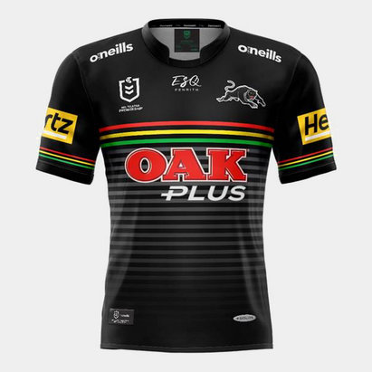 O'Neills Penrith Panthers 2020 NRL Kids Home S/S Rugby Shirt