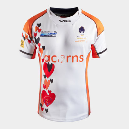 VX3 Worcester Warriors 2020 Kids Charity Rugby Shirt