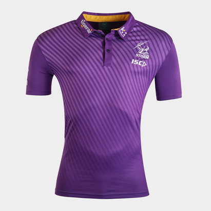ISC Melbourne Storm NRL 2020 Players Rugby Polo Shirt