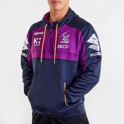 ISC Melbourne Storm NRL 2020 Hooded Rugby Sweat
