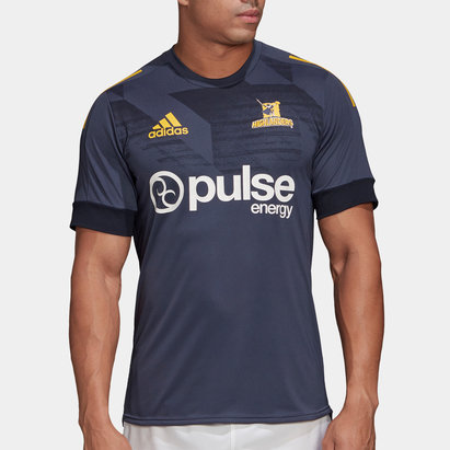 adidas Highlanders 2020 Super Rugby Training T-Shirt